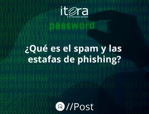 ¿Qué es el spam y las estafas de phishing?