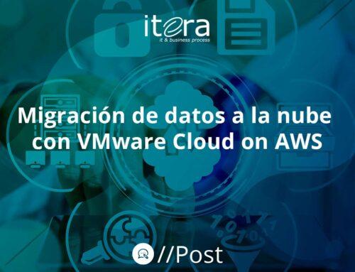 Migración de datos a la nube con VMware Cloud on AWS